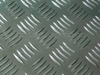 1000 5-bar Aluminum Tread Plate